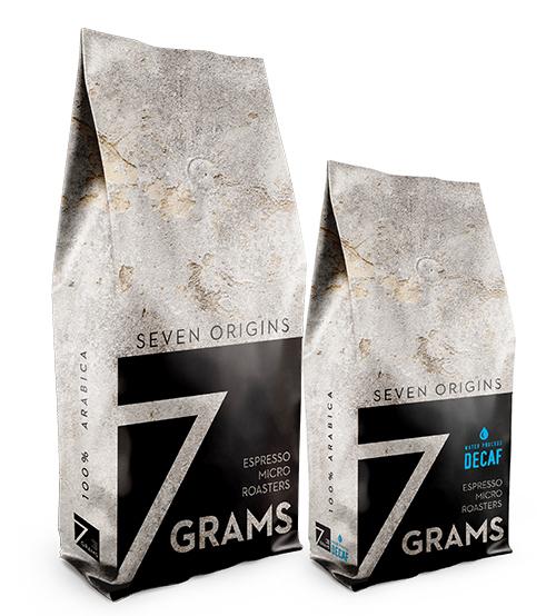 7 Grams Espresso Micro Roasters